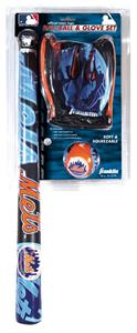 MLB NEW YORK METS Bat, Ball & Glove Set