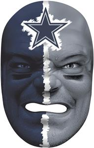 NFL Rubber Fan Face DALLAS COWBOYS