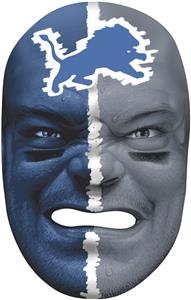 NFL Rubber Fan Face DETROIT LIONS