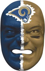 NFL Rubber Fan Face ST. LOUIS RAMS