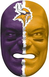 NFL Rubber Fan Face MINNESOTA VIKINGS