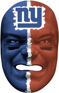 NFL Rubber Fan Face NEW YORK GIANTS