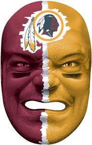 NFL Rubber Fan Face WASHINGTON REDSKINS