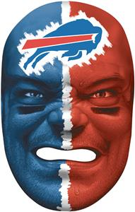 NFL Rubber Fan Face BUFFALO BILLS