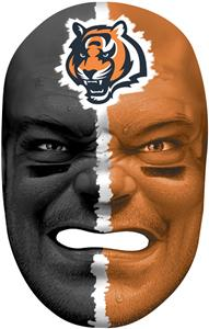 NFL Rubber Fan Face CINCINNATI BENGALS