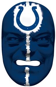 NFL Rubber Fan Face INDIANAPOLIS COLTS