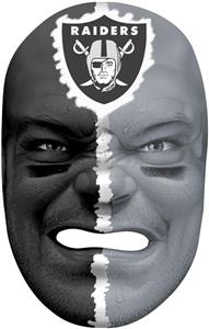 NFL Rubber Fan Face OAKLAND RAIDERS