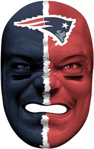 NFL Rubber Fan Face NEW ENGLAND PATRIOTS