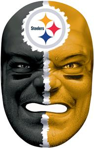 NFL Rubber Fan Face PITTSBURGH STEELERS