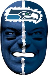 NFL Rubber Fan Face SEATTLE SEAHAWKS
