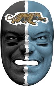 NFL Rubber Fan Face JACKSONVILLE JAGUARS
