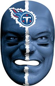 NFL Rubber Fan Face TENNESSEE TITANS