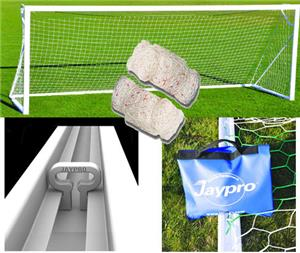 Jaypro Portable Nova Club Square Soccer Goals