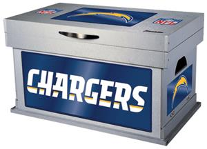 Franklin NFL San Diego Chargers Wood Foot Locker