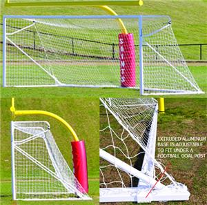 Jaypro Nova Premiere Adjustable Soccer Goal (Pair)