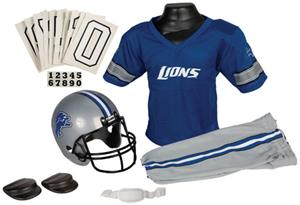 Franklin NFL LIONS Youth Team Uniform Set