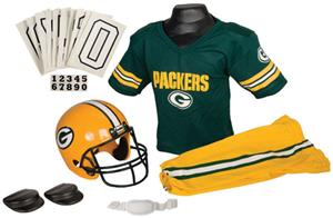 Franklin NFL PACKERS Youth Team Uniform Set