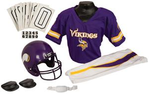 Franklin NFL VIKINGS Youth Team Uniform Set