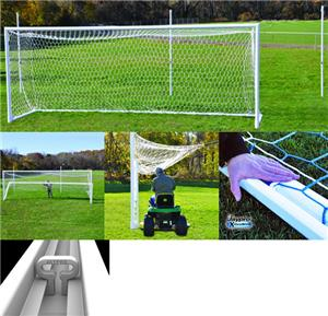 "Jaypro Nova 4"" World Fold Up Soccer Goal (Pair)"