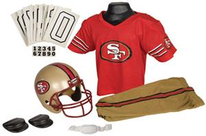 Franklin NFL 49ERS Youth Team Uniform Set