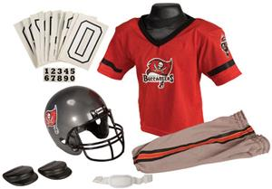 Franklin NFL BUCCANEERS Youth Team Uniform Set