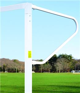 Semi Permanent Soccer Goal w/Euro Backstays (Pair)