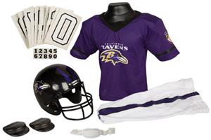 Franklin NFL RAVENS Youth Team Uniform Set