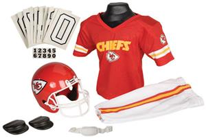 Franklin NFL CHIEFS Youth Team Uniform Set