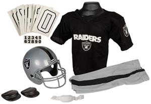 Franklin NFL RAIDERS Youth Team Uniform Set