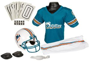 Franklin NFL DOLPHINS Youth Team Uniform Set