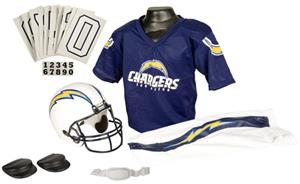 Franklin NFL CHARGERS Youth Team Uniform Set