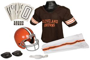 Franklin NFL BROWNS Youth Team Uniform Set