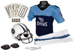 Franklin NFL TITANS Youth Team Uniform Set