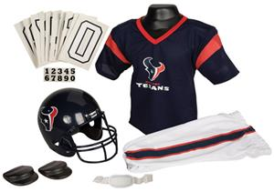Franklin NFL TEXANS Youth Team Uniform Set