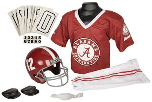 Collegiate Youth Football Team Uniform Set ALABAMA
