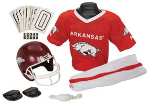 Collegiate Yth Football Team Uniform Set ARKANSAS