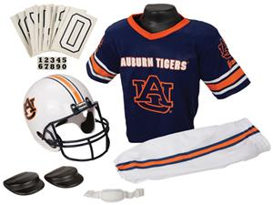 Collegiate Youth Football Team Uniform Set AUBURN