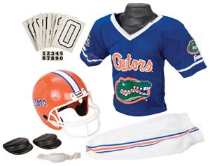 Collegiate Youth Football Team Uniform Set FLORIDA