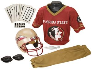 Collegiate Yth Football Team Uniform Set FLORDA ST