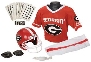 Collegiate Youth Football Team Uniform Set GEORGIA