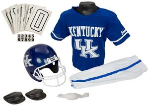 Collegiate Yth Football Team Uniform Set KENTUCKY