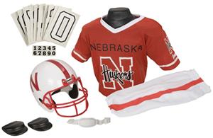 Collegiate Yth Football Team Uniform Set NEBRASKA
