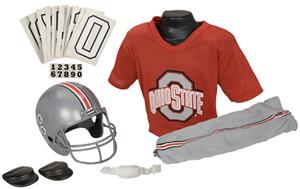 Collegiate Youth Football Team Uniform Set OHIO ST