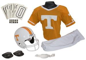 Collegiate Yth Football Team Uniform Set TENNESSEE