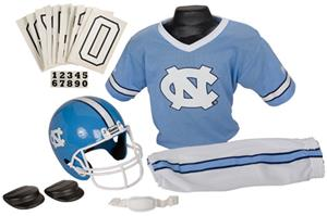 College Yth Football Team Uniform Set N. CAROLINA