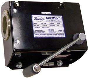 Jaypro Manual Backstop Winch