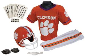 Collegiate Youth Football Team Uniform Set CLEMSON