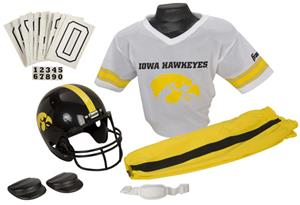 Collegiate Youth Football Team Uniform Set IOWA