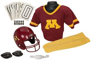 Collegiate Yth Football Team Uniform Set MINNESOTA