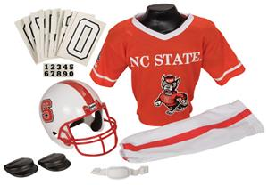 Collegiate Yth Football Team Uniform Set NC STATE